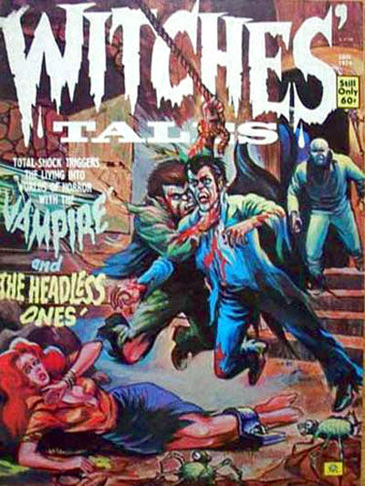 Cover for Witches Tales (Eerie Publications, 1969 series) #v6#1