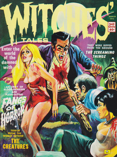 Cover for Witches Tales (Eerie Publications, 1969 series) #v6#2