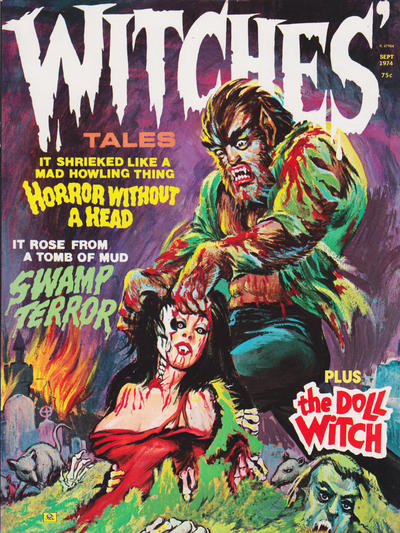 Cover for Witches Tales (Eerie Publications, 1969 series) #v6#5