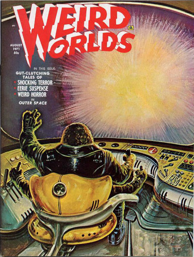 Cover for Weird Worlds (Eerie Publications, 1970 series) #v2#4