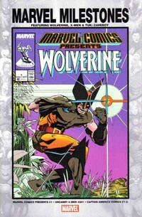 Cover Thumbnail for Marvel Milestones: Wolverine, X-Men & Tuk: Caveboy (Marvel, 2005 series)