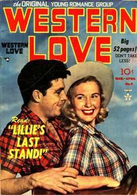 Cover Thumbnail for Western Love (Prize, 1949 series) #v1#5 (5)