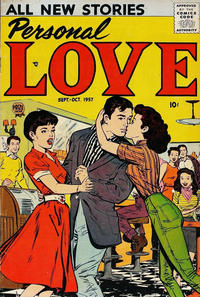 Cover Thumbnail for Personal Love (Prize, 1957 series) #v1#1