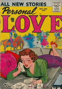 Cover Thumbnail for Personal Love (Prize, 1957 series) #v1#5