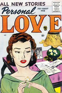 Cover Thumbnail for Personal Love (Prize, 1957 series) #v1#6