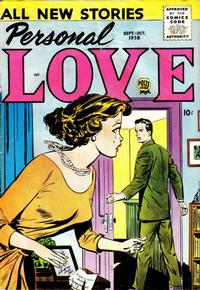 Cover Thumbnail for Personal Love (Prize, 1957 series) #v2#1