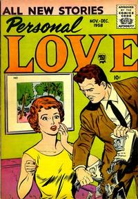 Cover Thumbnail for Personal Love (Prize, 1957 series) #v2#2