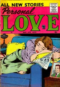 Cover Thumbnail for Personal Love (Prize, 1957 series) #v2#4