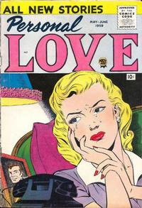 Cover Thumbnail for Personal Love (Prize, 1957 series) #v2#5