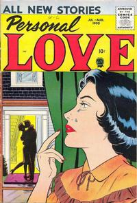 Cover Thumbnail for Personal Love (Prize, 1957 series) #v2#6