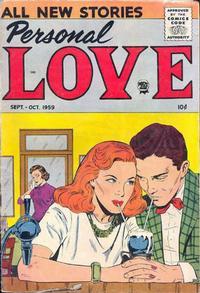 Cover Thumbnail for Personal Love (Prize, 1957 series) #v3#1