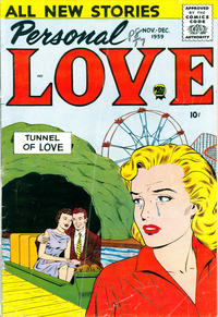 Cover Thumbnail for Personal Love (Prize, 1957 series) #v3#2