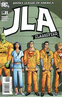 Cover Thumbnail for JLA: Classified (DC, 2005 series) #30 [Direct Sales]