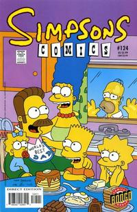 Cover Thumbnail for Simpsons Comics (Bongo, 1993 series) #124
