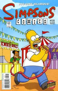 Cover Thumbnail for Simpsons Comics (Bongo, 1993 series) #125