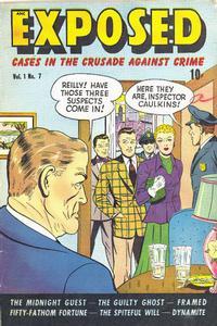 Cover Thumbnail for Exposed (D.S. Publishing, 1948 series) #v1#7