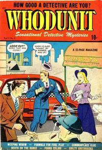 Cover Thumbnail for Whodunit (D.S. Publishing, 1948 series) #v1#1