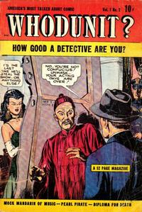 Cover Thumbnail for Whodunit (D.S. Publishing, 1948 series) #v1#2