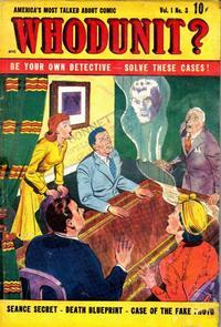 Cover Thumbnail for Whodunit (D.S. Publishing, 1948 series) #v1#3