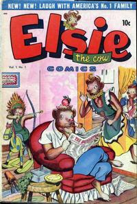 Cover Thumbnail for Elsie the Cow Comics (D.S. Publishing, 1949 series) #v1#1