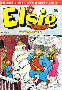 Cover Thumbnail for Elsie the Cow Comics (D.S. Publishing, 1949 series) #v1#2