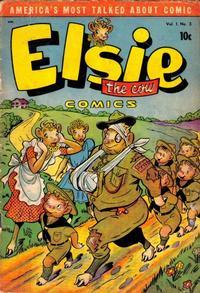 Cover Thumbnail for Elsie the Cow Comics (D.S. Publishing, 1949 series) #v1#3