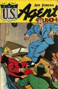 Cover Thumbnail for Jeff Jordan, U.S. Agent (D.S. Publishing, 1947 series) #v1#1