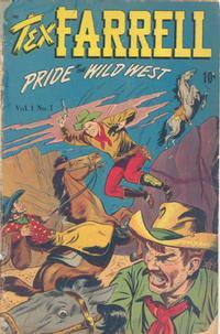 Cover Thumbnail for Tex Farrell (D.S. Publishing, 1948 series) #v1#1