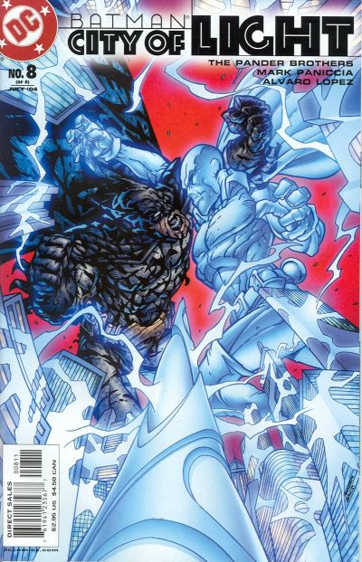Cover for Batman: City of Light (DC, 2003 series) #8