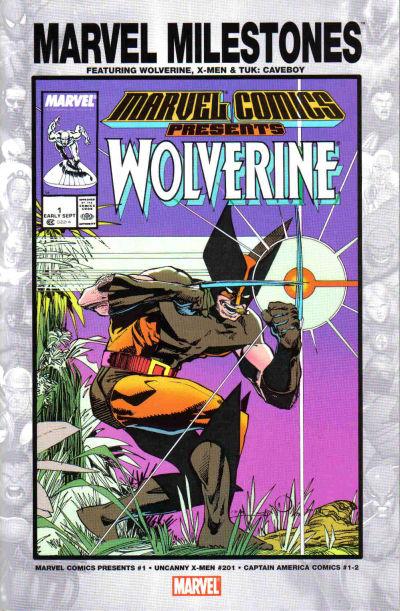 Cover for Marvel Milestones: Wolverine, X-Men & Tuk: Caveboy (Marvel, 2005 series)