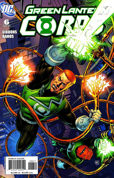 Cover for Green Lantern Corps (DC, 2006 series) #6