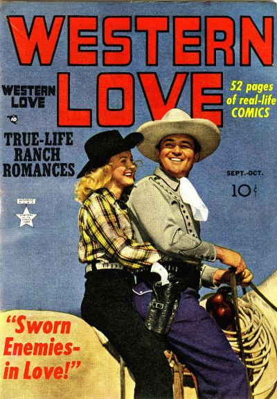 Cover for Western Love (Prize, 1949 series) #v1#2 [2]