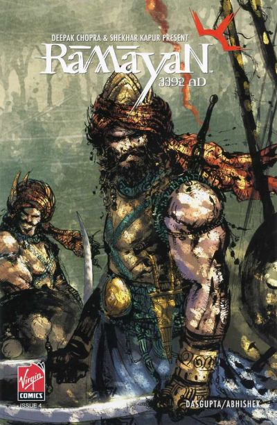 Cover for Ramayan 3392 A.D. (Virgin, 2006 series) #4