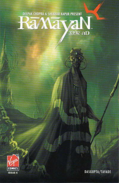 Cover for Ramayan 3392 A.D. (Virgin, 2006 series) #6
