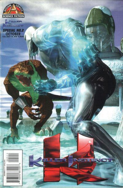 Cover for Killer Instinct Special (Acclaim / Valiant, 1996 series) #2
