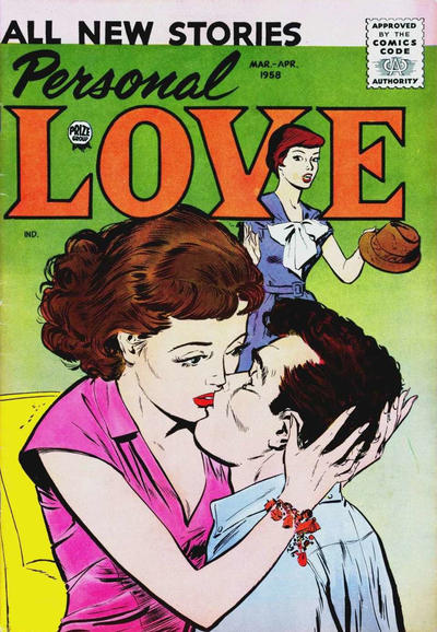 Cover for Personal Love (Prize, 1957 series) #v1#4