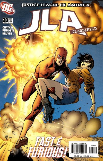 Cover for JLA: Classified (DC, 2005 series) #28 [Direct Sales]