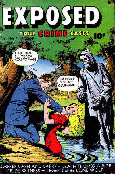 Cover for Exposed (D.S. Publishing, 1948 series) #v1#1