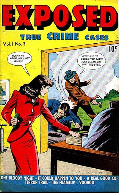 Cover for Exposed (D.S. Publishing, 1948 series) #v1#3