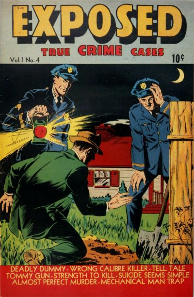 Cover for Exposed (D.S. Publishing, 1948 series) #v1#4