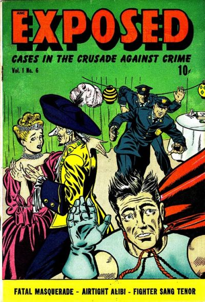 Cover for Exposed (D.S. Publishing, 1948 series) #v1#6