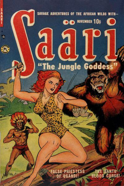Cover for Saari (P.L. Publishing, 1951 series) #1