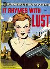 Cover for It Rhymes With Lust (St. John, 1950 series)