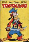 Cover for Topolino (Arnoldo Mondadori Editore, 1949 series) #11