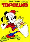 Cover for Topolino (Arnoldo Mondadori Editore, 1949 series) #22
