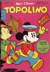 Cover for Topolino (Arnoldo Mondadori Editore, 1949 series) #36