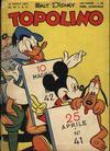 Cover for Topolino (Arnoldo Mondadori Editore, 1949 series) #41