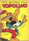 Cover for Topolino (Arnoldo Mondadori Editore, 1949 series) #54