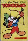 Cover for Topolino (Arnoldo Mondadori Editore, 1949 series) #85