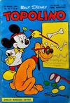 Cover for Topolino (Arnoldo Mondadori Editore, 1949 series) #86